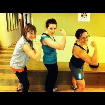 Oh yea sweat and biceps! Beautiful! :-)