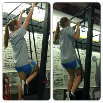 assisted band pull ups