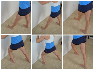 standing ankle mobility 3 ways
