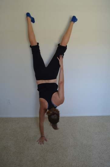 handstand progression