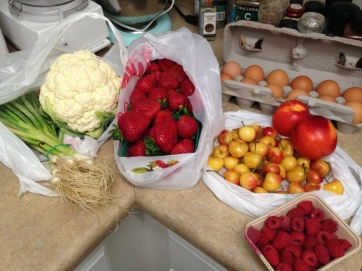 local and fresh produce