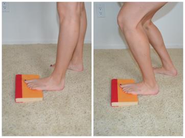 standing dorsiflexion stretch