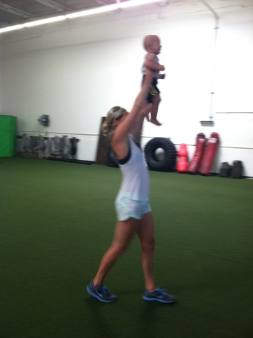 Overhead carry