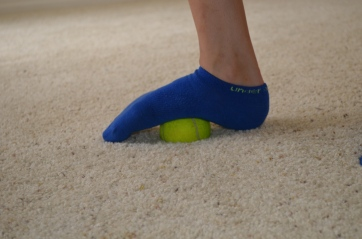 foam rolling for foot
