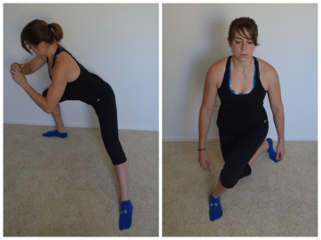 Rotational Lunges