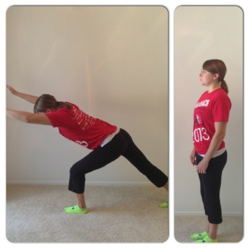 lunge for knee pain