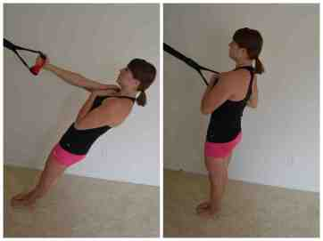anti-rotational row
