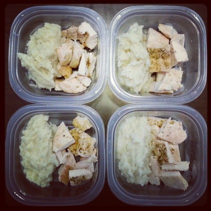This might be the way to make adhering to a healthy diet easier, especially at the beginning! Thanks Starla for a great meal prep photo.