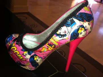 My wedding heels.