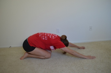 low back and lat stretch