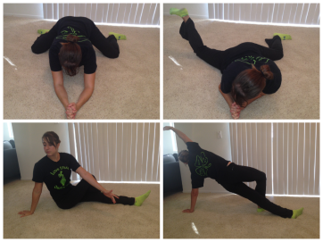 hips and back stretches