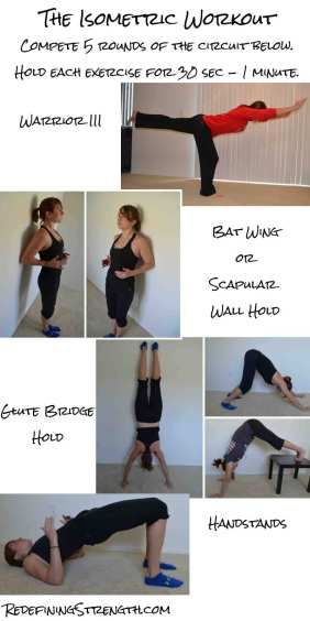 Isometric workout