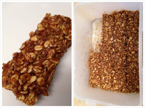 vanilla-almond-coffee-oatmeal-homemade-protein-bar
