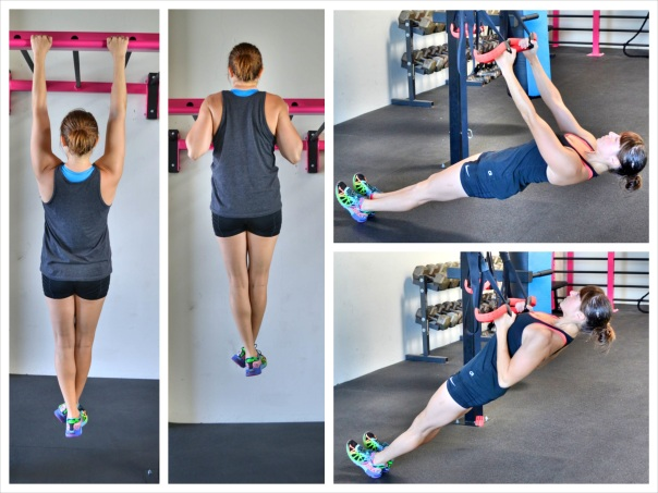 the pull up vs. the inverted row
